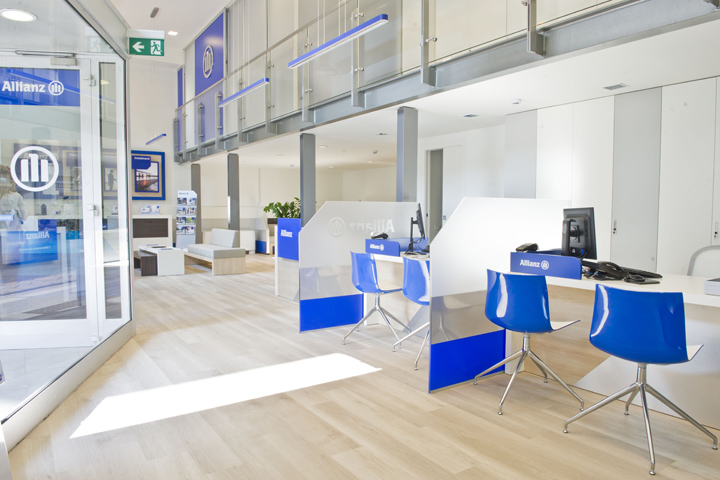 New design agency allianz by crea international and dinn for Design consulting services