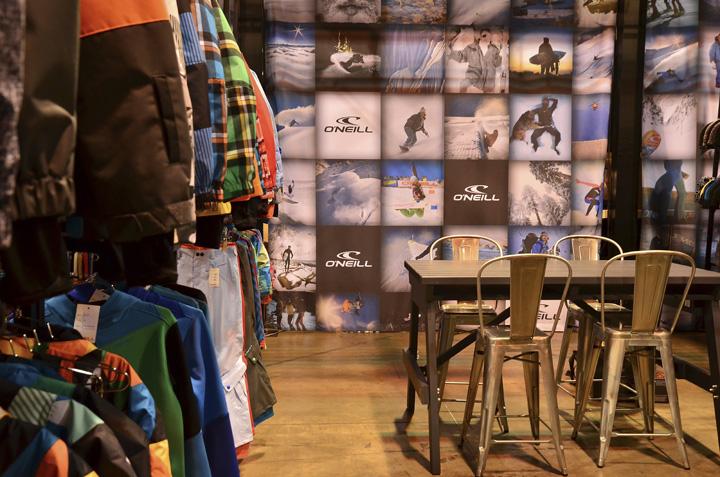 Exhibition Booth Sia : O neill sia tradeshow booth by idx design com denver