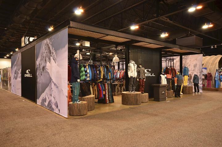 Exhibition Booth Sia : O neill u sia tradeshow booth by idx design com denver u colorado