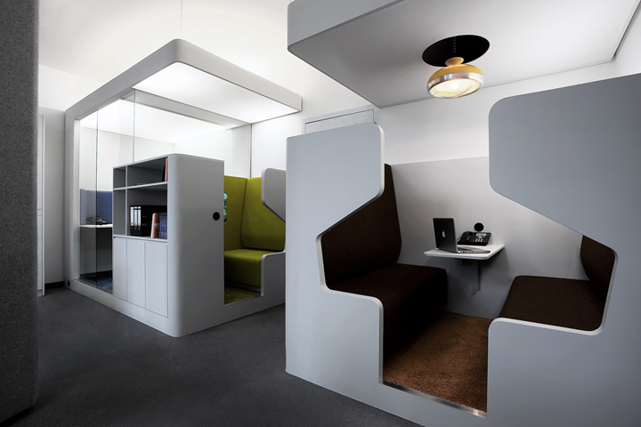 Office pilot by kinzo retail design blog for Office design of the future