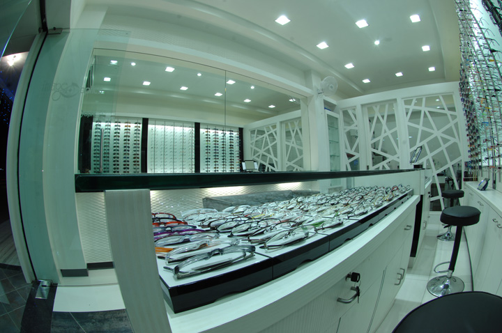 187 Optic Store By Studio 7 Designs Vadodara India