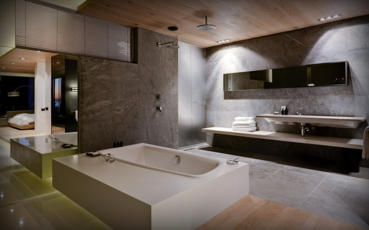 Pod boutique hotel by greg wright architects cape town for South african bathroom designs