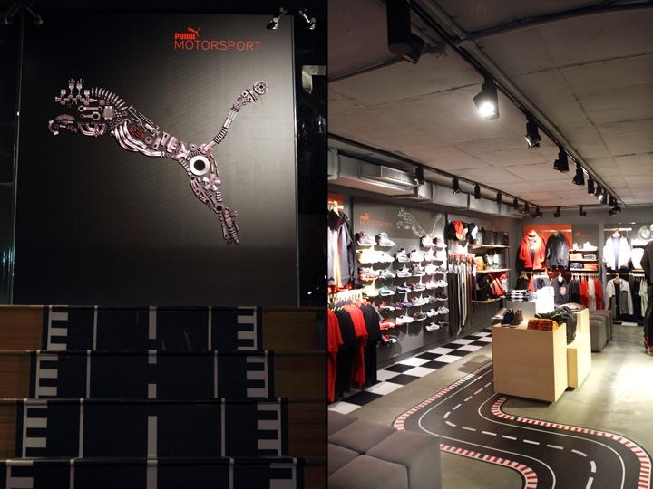 187 Puma Motorsport Collection Visual Merchandising By