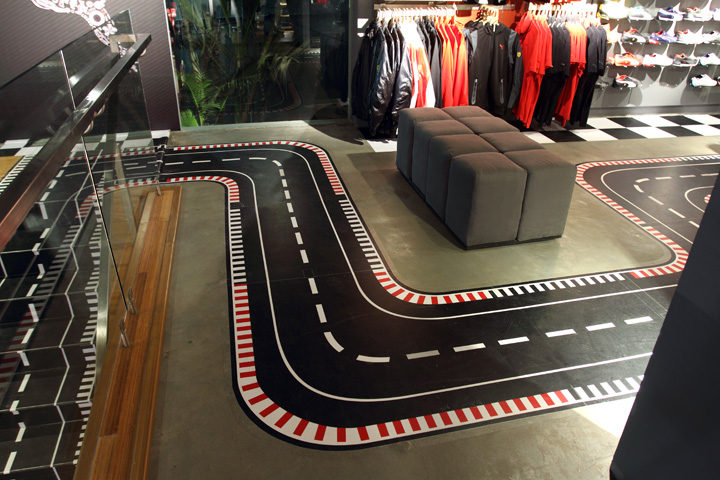 Puma Motorsport Collection Visual Merchandising By Studio