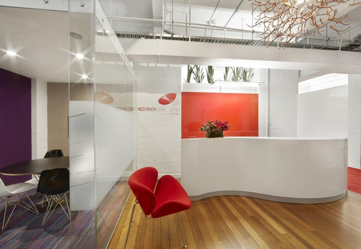 Red Rock office by Rolf Ockert Design Sydney Australia 02 Red Rock office by Rolf Ockert Design, Sydney Australia