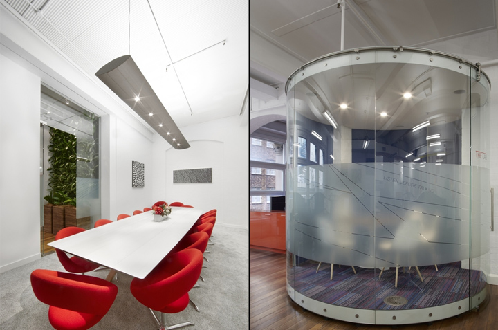 Office design sydney Melbourne The Morecu Red Rock Office By Rolf Ockert Design Sydney Australia