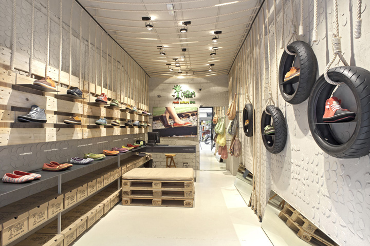 Recycled Materials Retail Design Blog