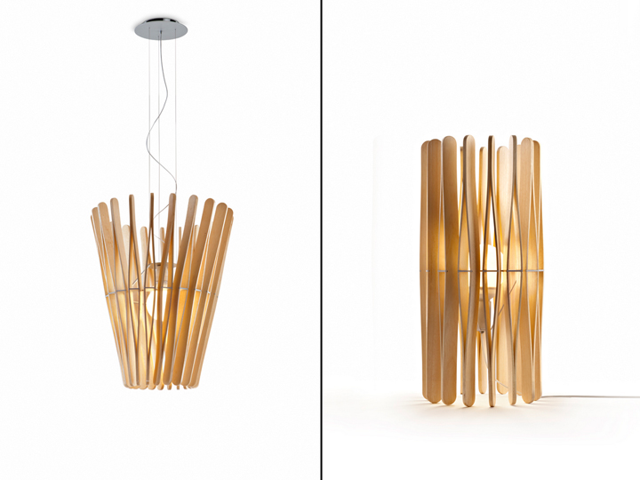 Stick collection by Matali Crasset for Fabbian Illuminazione