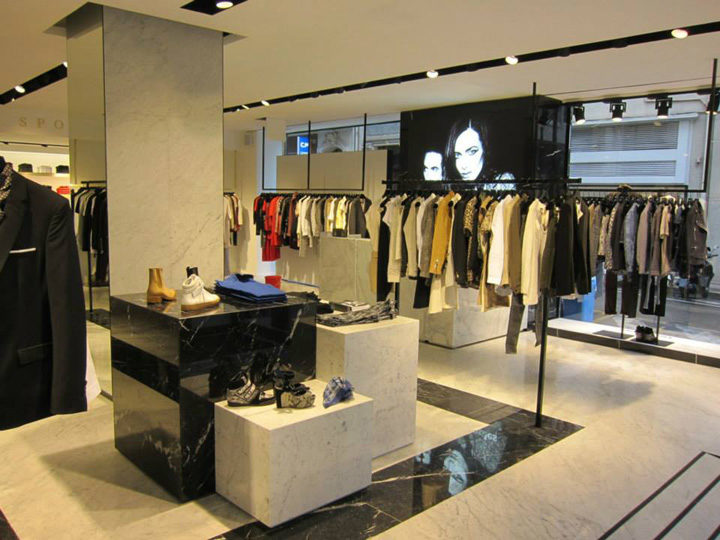 » The Kooples & The Kooples Sport boutique, Cannes – France