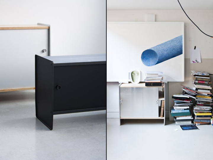 theca sideboard by ronan erwan bouroullec for magis retail design blog. Black Bedroom Furniture Sets. Home Design Ideas