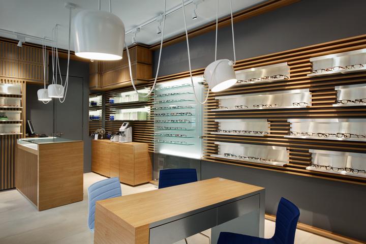 Thomas Opticien Optical Shop By Pisi Design Studio Paris Retail Blog