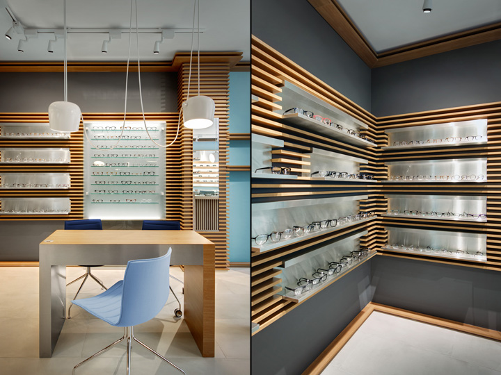 Thomas Opticien Optical shop by Pisi Design Studio, Paris b9fd319b2e21