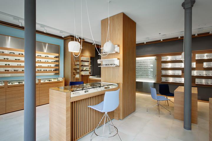 » Thomas Opticien Optical shop by Pisi Design Studio, Paris 46ddb11fb249