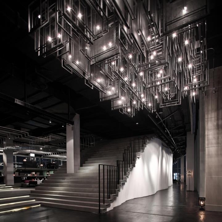 Zense restaurant by department of architecture bangkok for Bangkok architecture