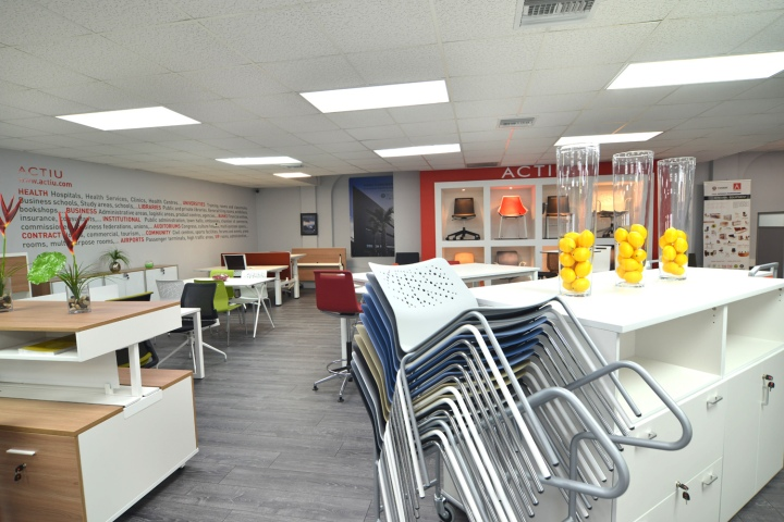 Actiu offices Miami  Florida  Retail Design Blog