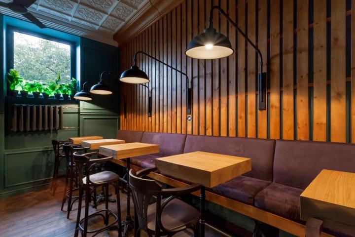 Bar by kley design kiev ukraine retail design blog - Suspension style industriel ...