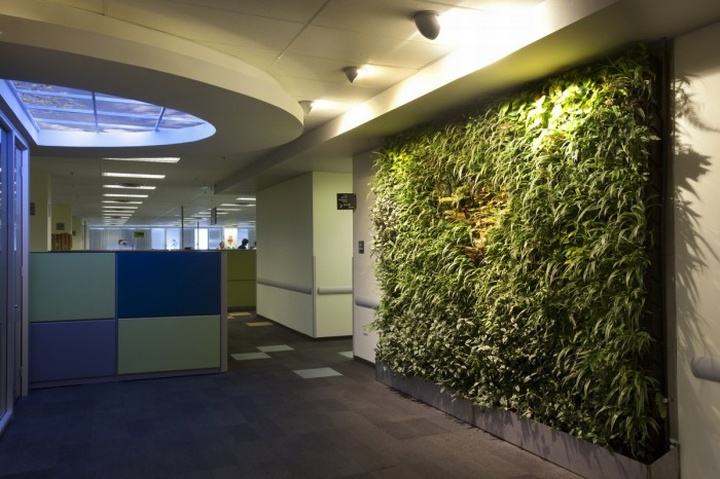 Biophilic design offices by sky factory retail design blog for Office by design