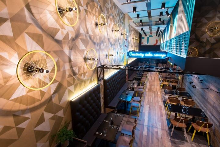 disegno Food banquette : Bluetrain restaurant by Studio Equator, Melbourne ? Australia ...
