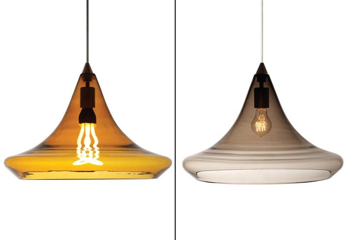 Pendant lighting for retail : Caspian grande and mali pendant lights by tech lighting