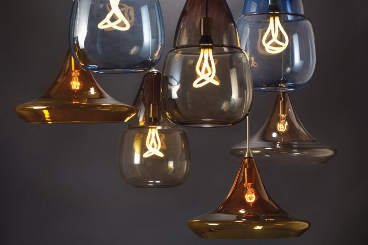 glass blown pendant lighting. handblown by italian artisans the moroccaninspired shape of this largescale transparent glass pendant provides a dramatic backdrop for its blown lighting