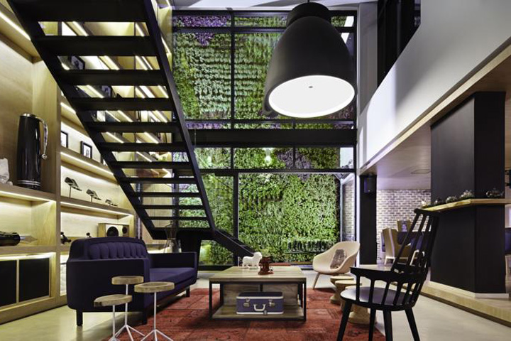 Click Clack hotel by plan:b arquitectos & Perceptual Studio, Bogota   Colombia