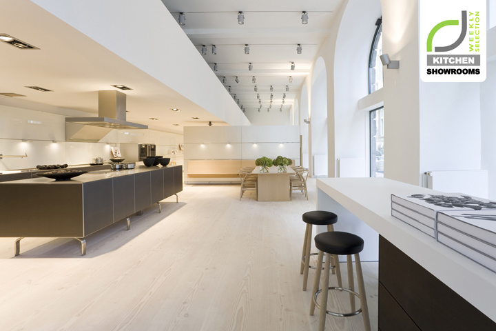 Kitchen showrooms dinesen bulthaup showrooms retail for Kitchen design showroom