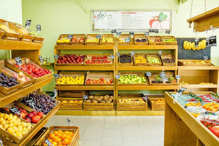 Fruits u0026 Veggies market by Beregova A. db u201cVozduhu201d, St Petersburg u2013 Russia u00bb Retail Design Blog
