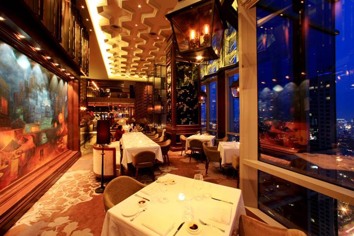 Gaia restaurant by metaphor jakarta indonesia
