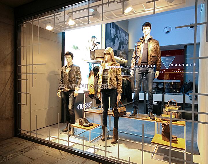 Gant Windows 2013 Autumn Munich Germany Retail Design
