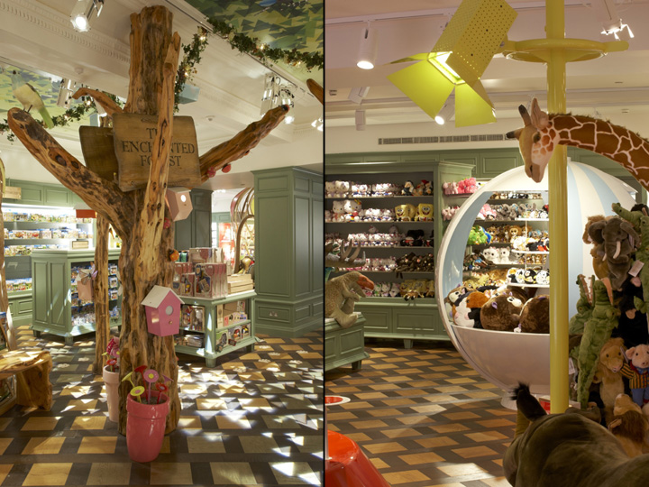Toy Stores Harrods Toy Kingdom By Shed London 187 Retail