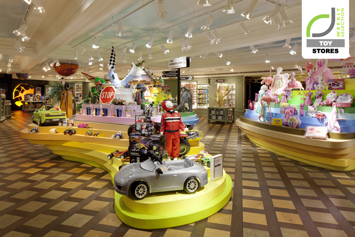 Toy stores harrods toy kingdom by shed london retail design blog - Boutique lego londres ...