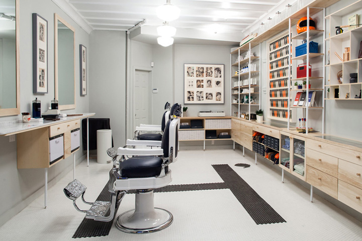 Harry?s Corner Shop barbershop, New York City ? Retail Design Blog