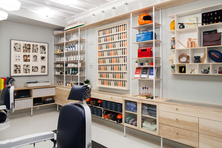 harrys corner shop barbershop new york city - Barber Shop Design Ideas