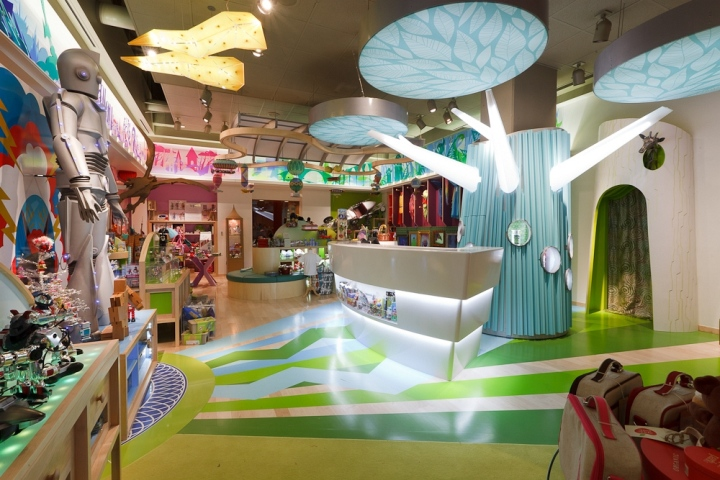 Toy stores jou jou toy store by watts architects salt for Design hotel utah
