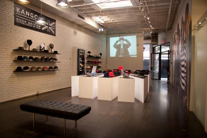 187 Kangol Pop Up Shop New York City