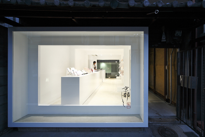 Kyoto Silk Beauty Cosmetic Shop By Keiichi Hayashi Architect Kyoto - Architecture-design-in-kyoto-japan