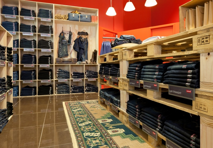 187 Levi Strauss Pop Up Boutique By Rcg Auckland New Zealand