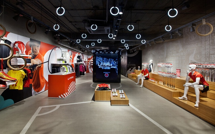 Li-Ning store by Ziba, Beijing, Tianjin – China » Retail ...