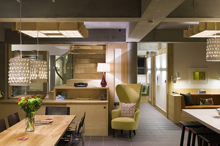 Maggies cancer caring centre by cullinan studio speirs for Office design newcastle