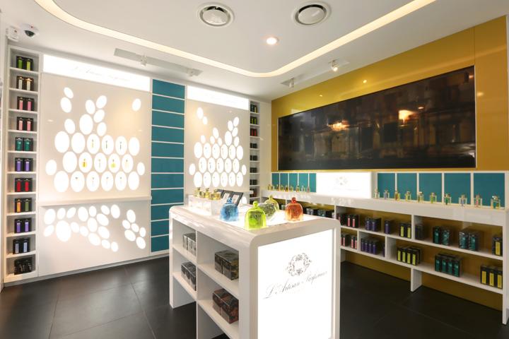 Maison de parfum store by geo logic seoul south korea retail design blog - Maison disigne ...