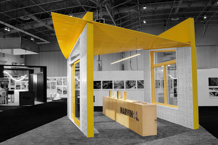 Marvin Windows and Doors Canada booth by Arc & Co. Design