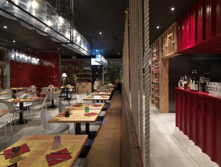 pizzikotto restaurant by andrea langhi reggio emilia