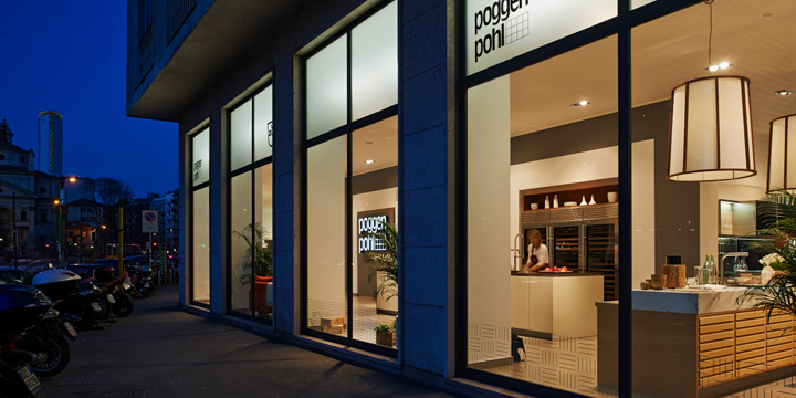 Kitchen Showrooms kitchen showrooms! poggenpohl design center, milan – italy