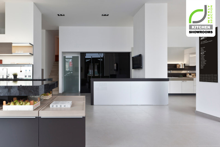 Kitchen Showrooms Poggenpohl Design Center Milan Italy