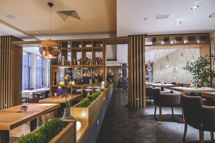 187 Ristorante Fratelli Restaurant By Dekart Studio Odessa Ukraine