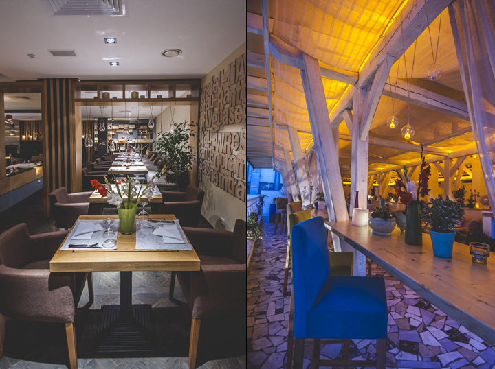 Ristorante Fratelli restaurant by Dekart Studio, Odessa ? Ukraine ...
