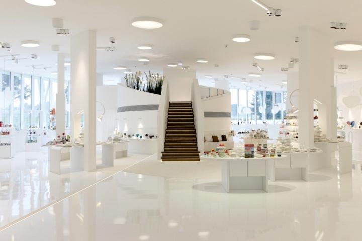 Ritzenhoff showroom by clever architekten ingenieure for Design shop deutschland