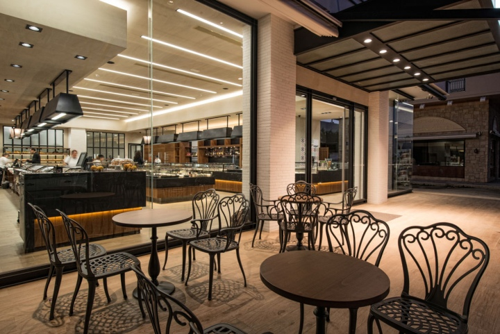 Savoidakis bakery \u2013 patisserie \u2013 café by Manousos Leontarakis \u0026 Associates,  Greece