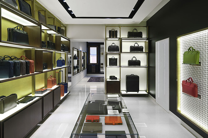 The new store concept Serapian Milano comes from the desire to recall the  past and tradition projecting the product in a timely and cozy interior  through ...