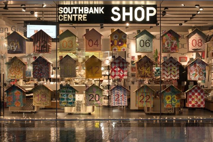 Giant Advent Calendar Ideas : Southbank centre advent calendar by ffion harman london